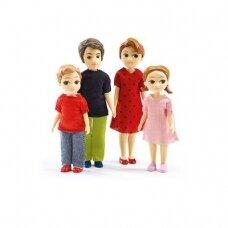 """Lėlytės """"Tomo ir Marion"""" šeima"""