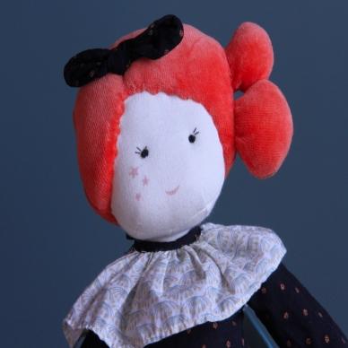 Lėlė madmuazelė Konstancija, 47 cm 7