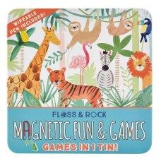 Magnetinis žaidimas, Džiunglės 4 in 1