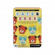 """Magnetinis žaidimas """"Kačiukai ir šuniukai"""""""