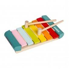 Cubika medinis ksilofonas