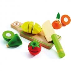 Mediniai pjaustomi vaisiai ir daržovės