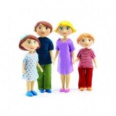 """Lėlytės """"Gaspard ir Romy"""" šeima"""