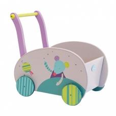 """Medinis vežimėlis """"Pelytė ir katytė"""""""