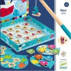 """Djeco magnetinis žaidimas """"Žvejyba - Loto"""""""