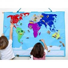 Medžiaginis pasaulio žemėlapis