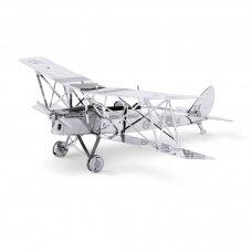 """Metalinis 3D konstruktorius """"DH82 Tiger Moth"""""""