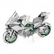 "Metalinis 3D konstruktorius ""Kawasaki Ninja Green"" Iconx serija"