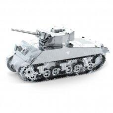 """Metalinis 3D konstruktorius """"Sherman Tank """""""