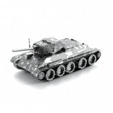"Metalinis 3D konstruktorius ""T-34 Tank"""