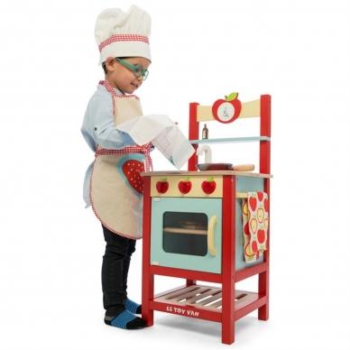 """Medinė virtuvėlė """"Obuoliukas"""" 7"""