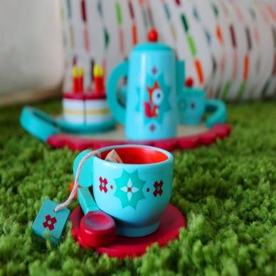 """Medinis arbatos ir torto rinkinys """"Laputės vakarėlis"""" 4"""