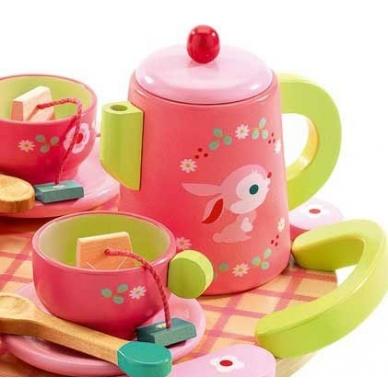 """Medinis arbatos ir torto rinkinys """"Rožės"""" 4"""