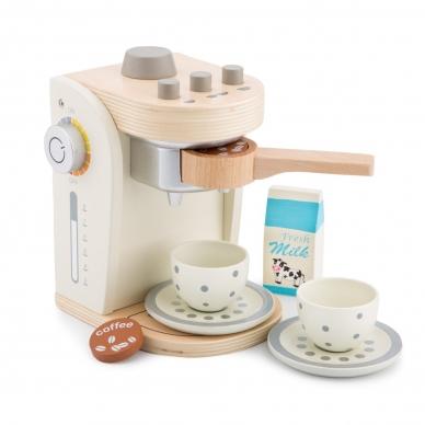 Medinis kavos virimo aparatas