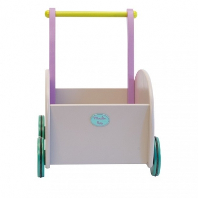 """Medinis vežimėlis """"Pelytė ir katytė"""" 3"""