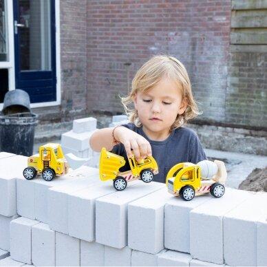 Medinių statybos mašinų rinkinys 5
