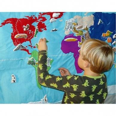 Medžiaginis pasaulio žemėlapis 3