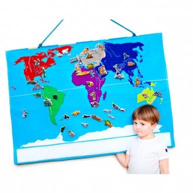 Medžiaginis pasaulio žemėlapis 4