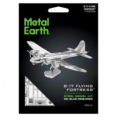"Metalinis 3D konstruktorius ""B-17 Flying Fortress"" 2"