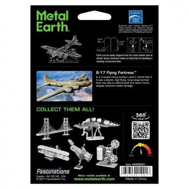 "Metalinis 3D konstruktorius ""B-17 Flying Fortress"" 3"