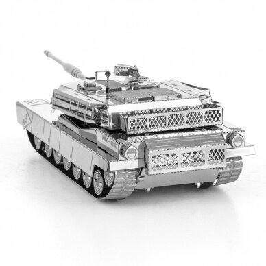 "Metalinis 3D konstruktorius ""M1 Abrams Tank"" 3"