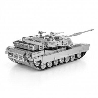 "Metalinis 3D konstruktorius ""M1 Abrams Tank"" 2"
