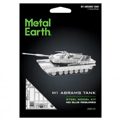 "Metalinis 3D konstruktorius ""M1 Abrams Tank"" 4"