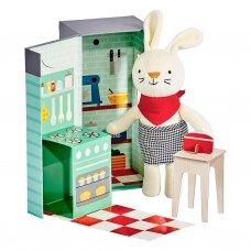 "Minkštas žaislas su nameliu ""Virtuvės šefas Rubie"""