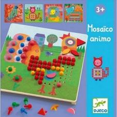 """Mozaikos žaidimas """"Gyvūnai"""""""