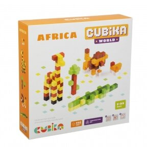 "Medinis 3D konstruktorius - mozaika ""Afrika"""