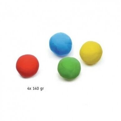 Modelino rinkinys 4 spalvos 2
