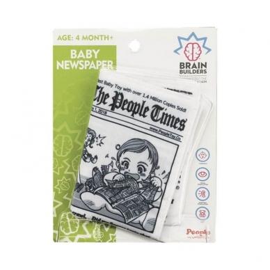 """Neplyštantis """"Brain Builders"""" laikraštis """"Kūdikių žinios"""" 4mėn+ 2"""
