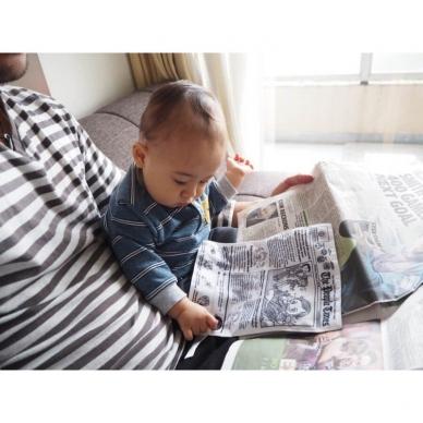 """Neplyštantis """"Brain Builders"""" laikraštis """"Kūdikių žinios"""" 4mėn+ 4"""
