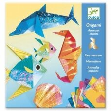 """Origami rankdarbis """"Jūros gyventojai"""""""