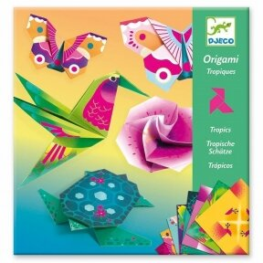 "Origami rankdarbis ""Tropikai"""