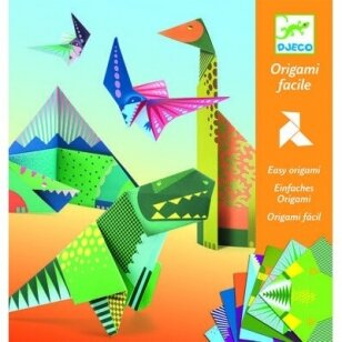 "Origami rankdarbis ""Dinozaurai"""