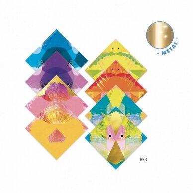 """Origami rankdarbis """"Jūros gyventojai"""" 2"""