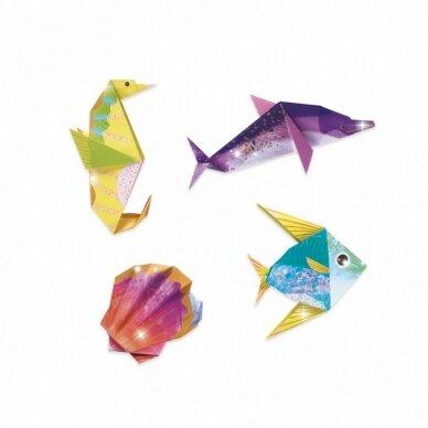 """Origami rankdarbis """"Jūros gyventojai"""" 3"""