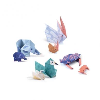 "Origami rankdarbis ""Šeima"" 3"