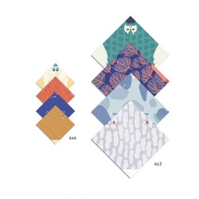 "Origami rankdarbis ""Šeima"" 2"