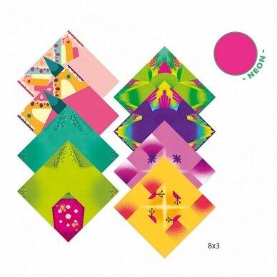 "Origami rankdarbis ""Tropikai"" 3"