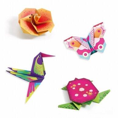 "Origami rankdarbis ""Tropikai"" 2"