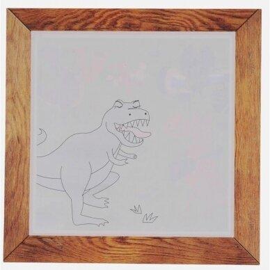 """Piešimo vandeniu rinkinys mažiesiams """"Dinozaurai"""" 3"""