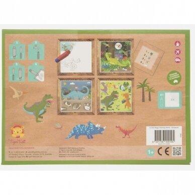 """Piešimo vandeniu rinkinys mažiesiams """"Dinozaurai"""" 2"""