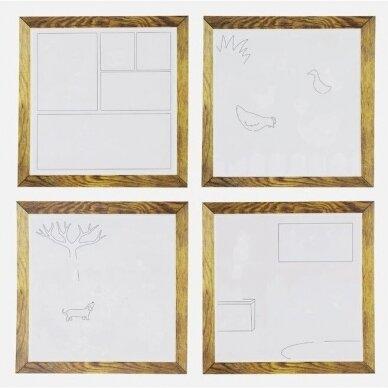 """Piešimo vandeniu rinkinys mažiesiams """"Naminiai gyvūnėliai"""" 4"""