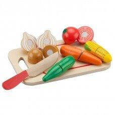 Pjaustomų daržovių rinkinys
