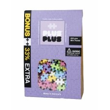 Plus Plus konstruktorius, Mini pastelinės 300+100 DOVANŲ