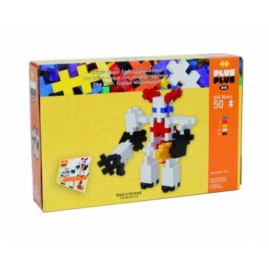 Plus Plus konstruktorius, Robotas, DIDELĖS, 50 2