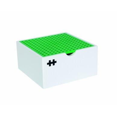 Plus Plus konstruktorius, Vėjo malūnas, medinė dėžutė 2