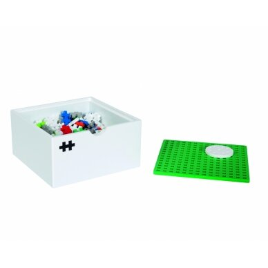 Plus Plus konstruktorius, Vėjo malūnas, medinė dėžutė 4